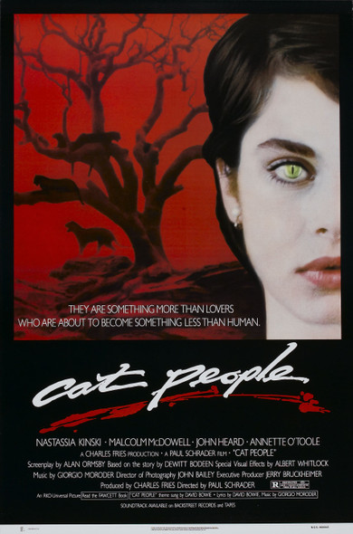 Cat People (Red Border) Original Cinema Poster