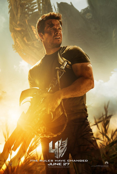 Transformers Age Of Extinction (Wahlberg) Original Movie Poster One Sheet