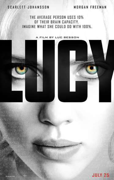 Lucy Original Movie Poster
