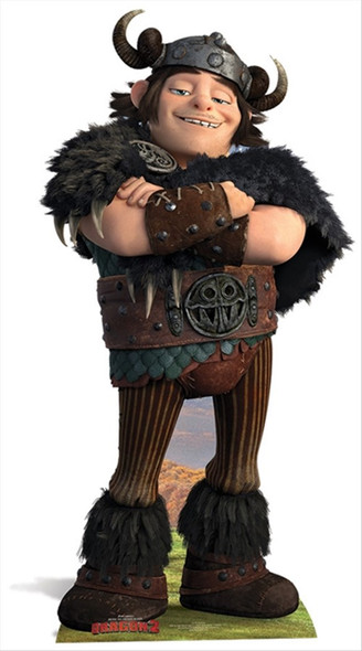 Snotlout from How To train Your Dragon 2 Cardboard Cutout