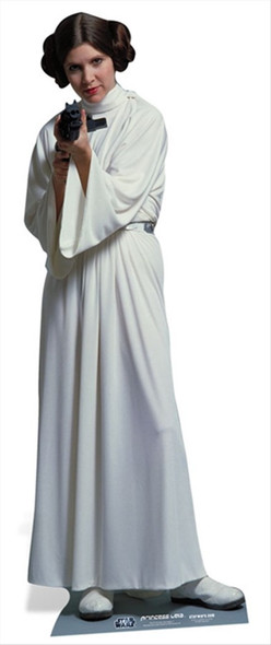 Princess Leia Organa from Star Wars Cardboard Cutout