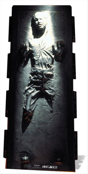 Han Solo in Carbonite Cardboard Cutout