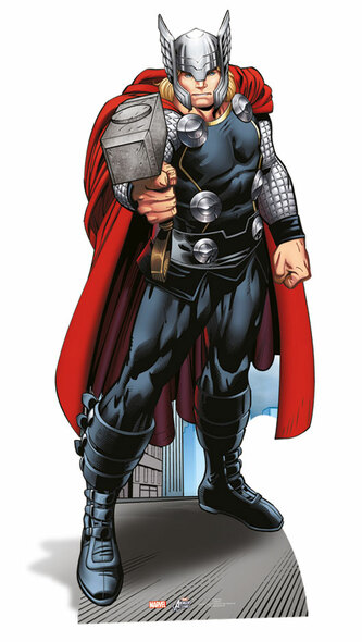 Thor Lifesize Cardboard Cutout