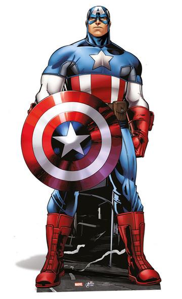 Captain America Lifesize Cardboard Cutout
