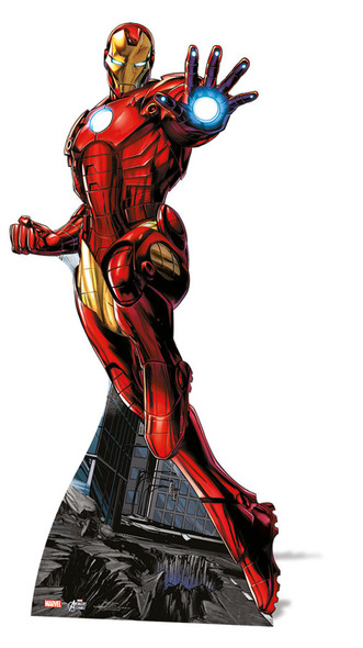 Iron Man Lifesize Cardboard Cutout