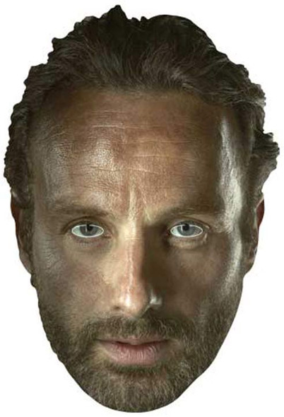 Rick Grimes The Walking Dead Party Face Mask
