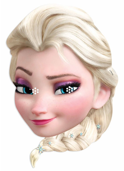 Elsa from Frozen Party Face Mask