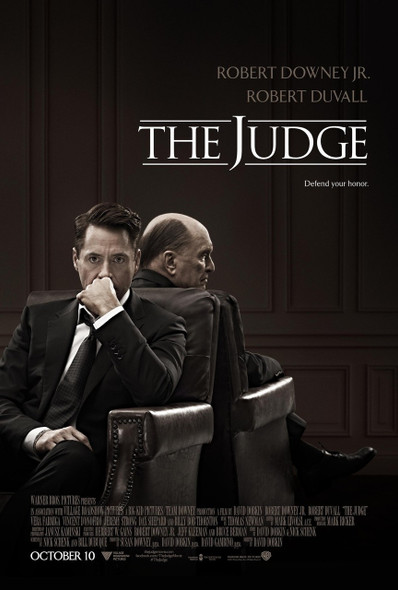 The Judge Original Movie Poster