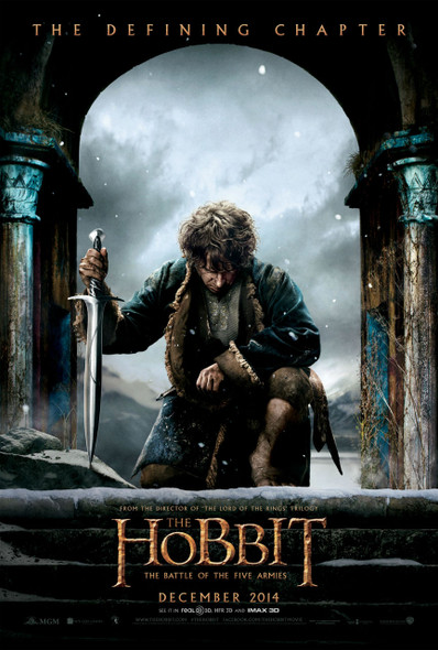 The Hobbit Five Armies Poster
