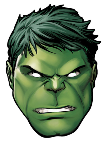 Hulk Card Face Mask
