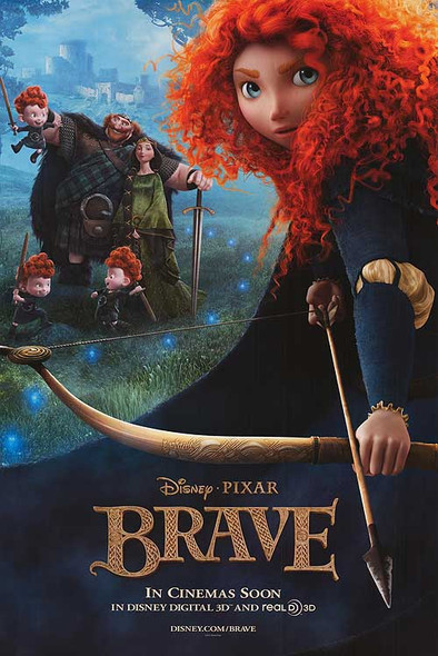 Brave Original Movie Poster