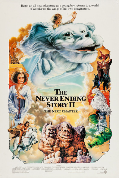 The Never Ending Story 2 Original Movie Poster