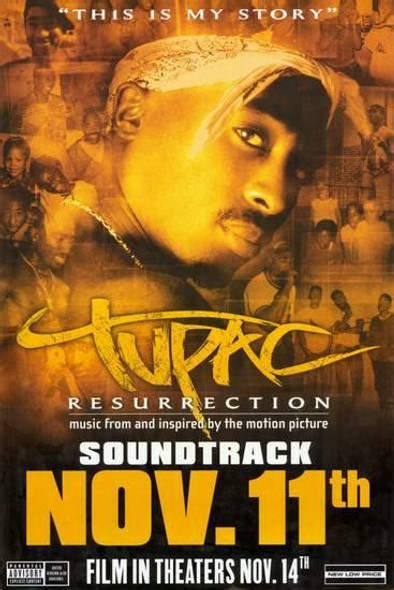 Tupac Resurrection Original Soundtrack Poster