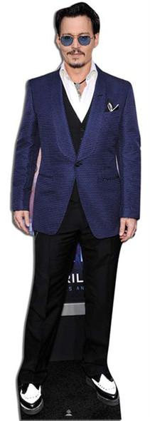 Life Size Cutout Johnny Depp White Jacket