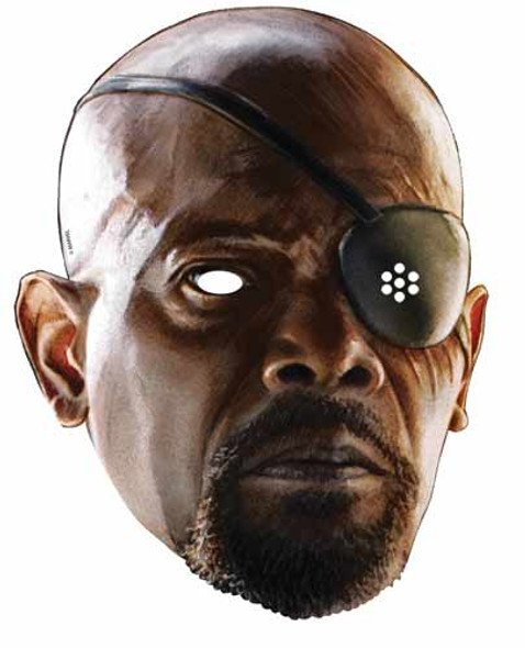 Nick Fury Avengers Age of Ultron Single Card Mask