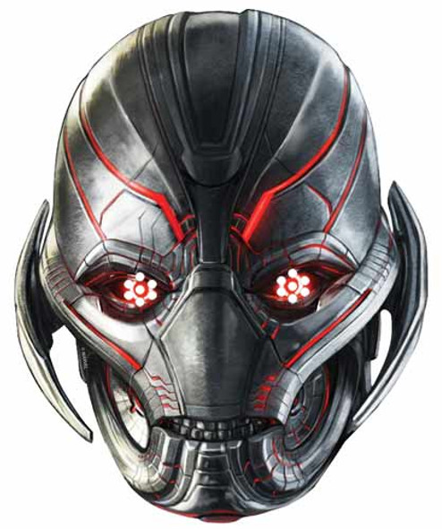Ultron Avengers Age of Ultron Single Card Mask