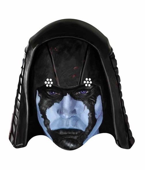 Ronan the Accuser Guardians of the Galaxy Single Card Face Mask