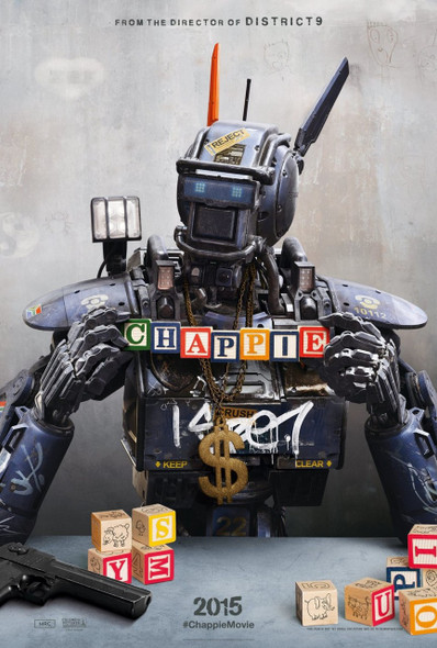 Chappie Original Movie Poster