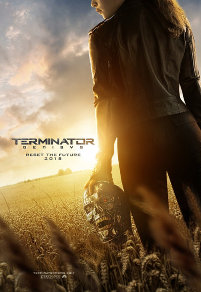 Terminator Genisys Original Movie Poster