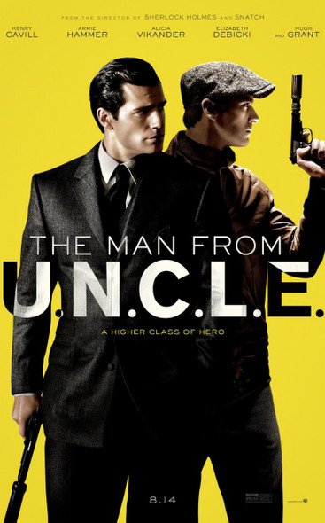 The Man From U.N.C.L.E Original Movie Poster