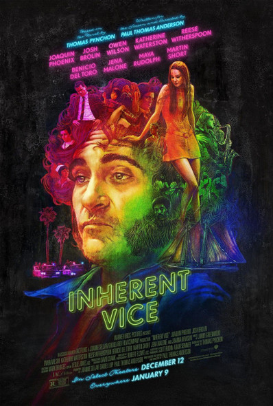 Inherent Vice Original Movie Poster