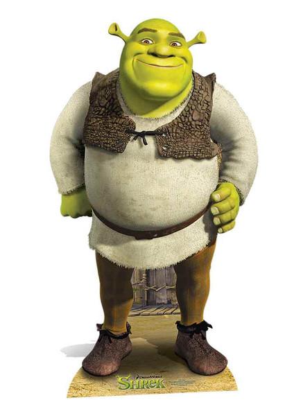 Shrek Lifesize Cardboard Cutout