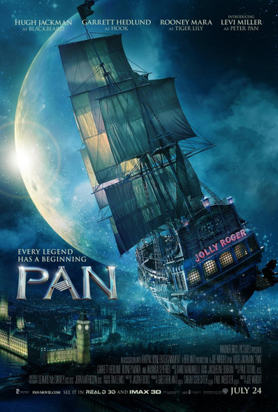 Pan Original Movie Poster