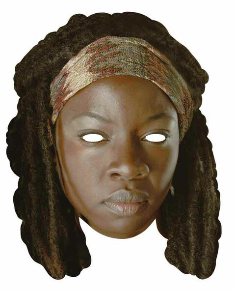 Michonne Walking Dead Face Mask