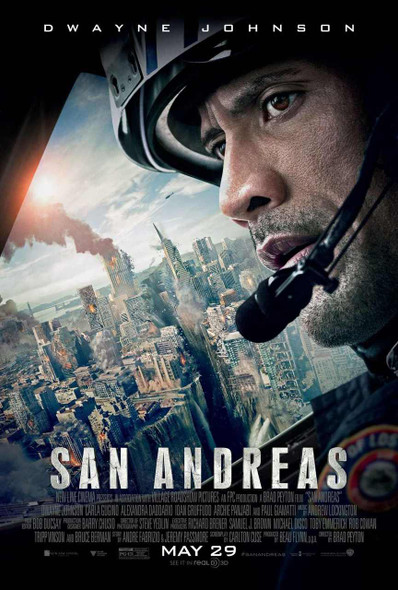 San Andreas Original Movie Poster