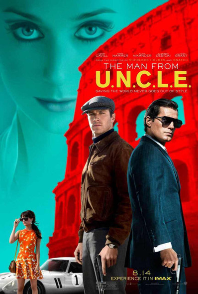 The Man from U.N.C.L.E. Original Movie Poster