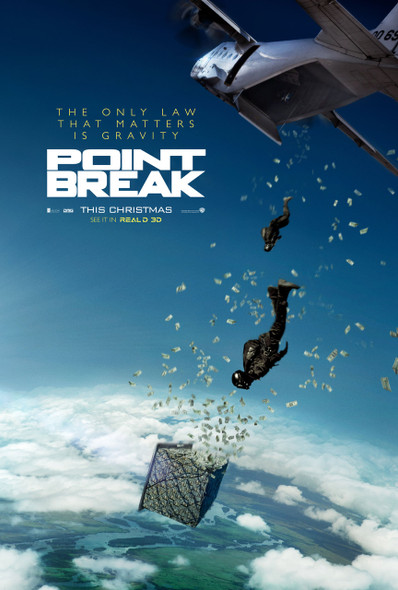 Point Break Original Movie Poster