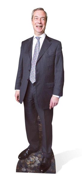 Nigel Farage UKIP Leader Cardboard Cutout