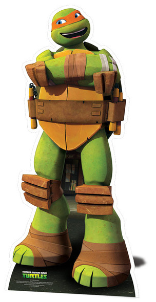 Michelangelo Teenage Mutant Ninja Turtles Mini Cardboard Cutout