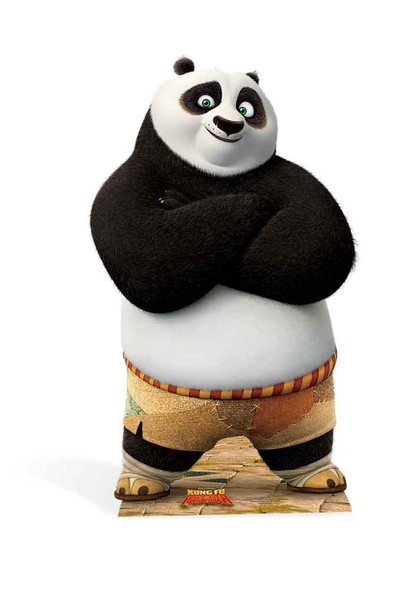 Po Ping from Kung Fu Panda Mini Cardboard Cutout