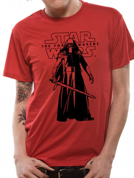 Star Wars: The Force Awakens Kylo Ren Standing Pose Official Unisex T-Shirt
