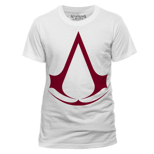Assassin's Creed Logo Official White Unisex T-Shirt