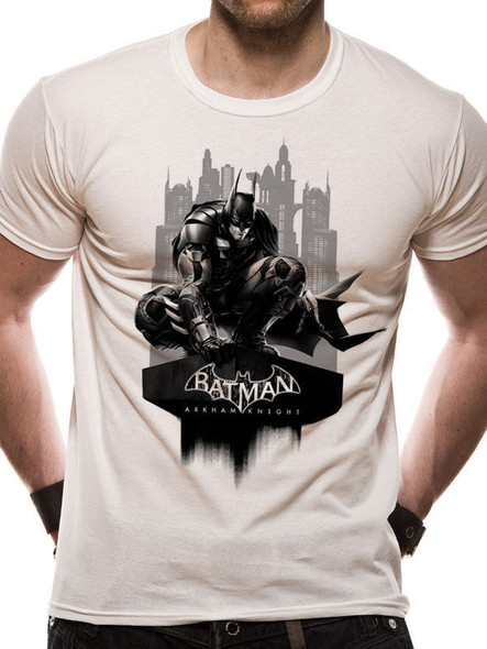 Batman Arkham Knight Gotham Cityscape Official Unisex T-Shirt