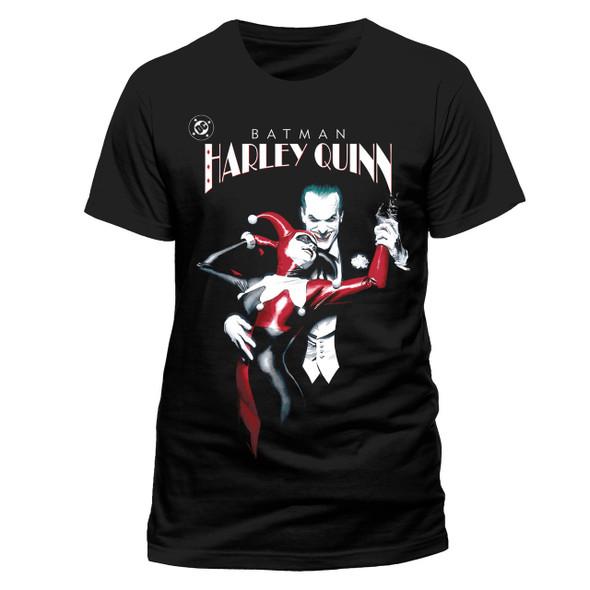 Harley Quinn and The Joker DC Comics Official Unisex T-Shirt
