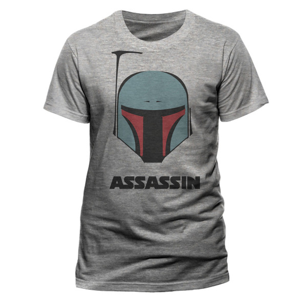 Boba Fett Assassin Star Wars Official Unisex T-Shirt