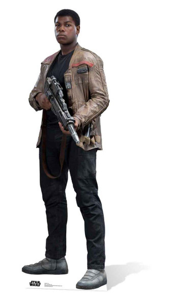 Finn Star Wars: The Force Awakens Lifesize Cardboard Cutout
