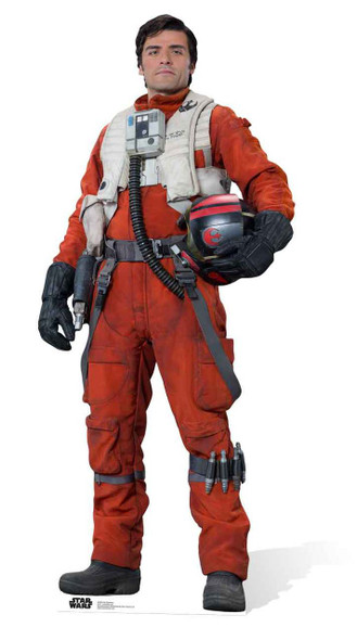 Poe Dameron Star Wars: The Force Awakens Lifesize Cardboard Cutout