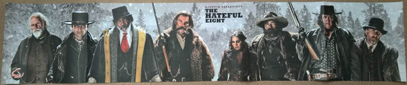 The Hateful Eight Ultra Rare Original Movie Poster