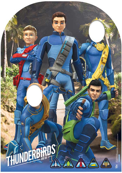 Thunderbirds Are Go Child Size Stand-in Cardboard Cutout