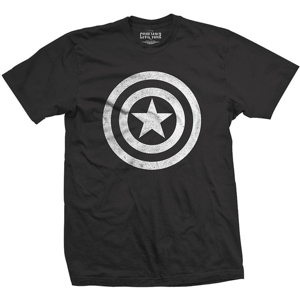 Captain America: Civil War Distressed Shield Unisex T-Shirt
