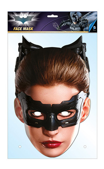 Catwoman Official DC Comics Batman Card Party Face Mask