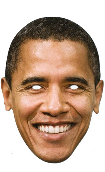 Barack Obama US President Card Party Face Mask