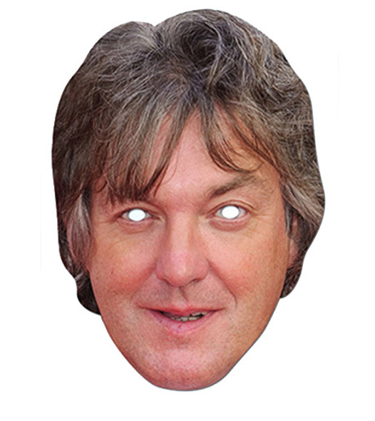 James May Celebrity Card Party Face Mask