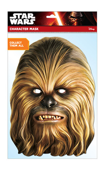 Chewbacca Official Star Wars Card Party Face Mask