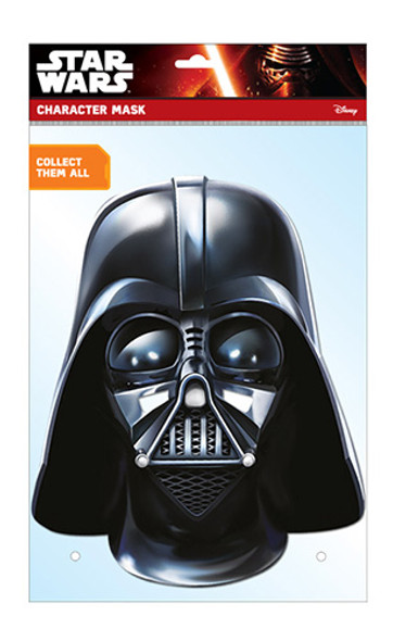 Darth Vader Official Star Wars Card Party Face Mask