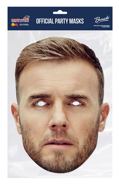 Gary Barlow Take That Official Take That Card Party Face Mask